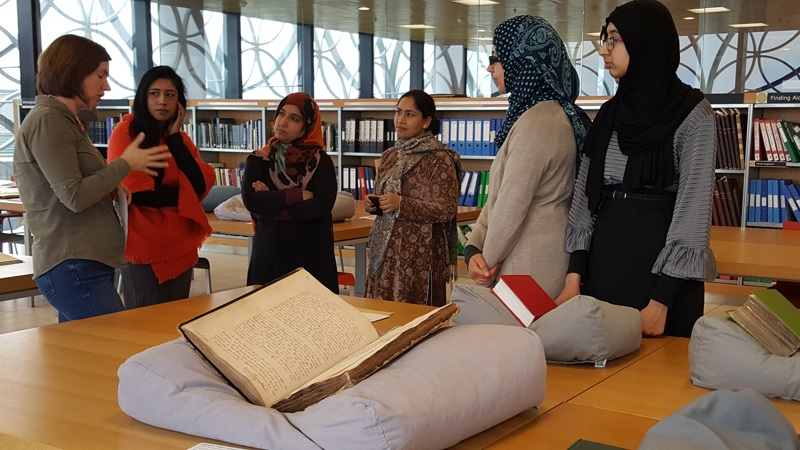 research and archiving at Birmingham Library